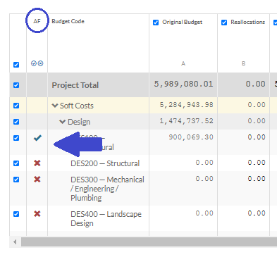 Autoforecast feature in free construction project budget app
